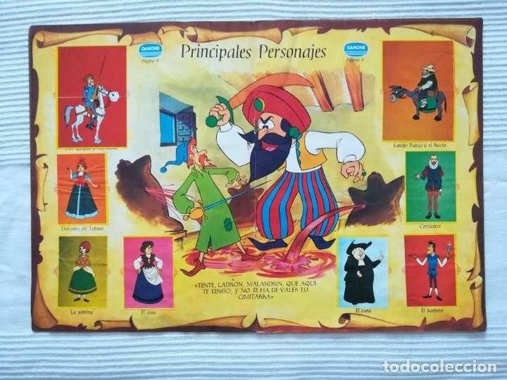 Coleccionismo Álbumes: Álbum Don Quijote de la Mancha de Danone - Foto 6 - 194236976