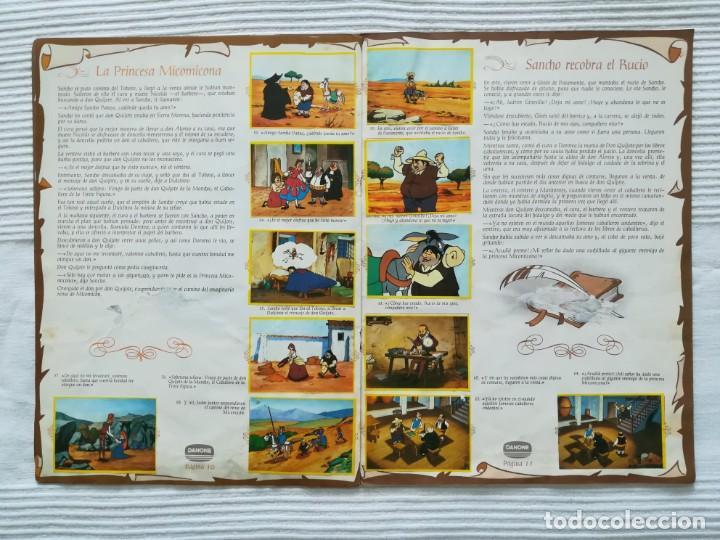 Coleccionismo Álbumes: Álbum Don Quijote de la Mancha de Danone - Foto 7 - 194236976