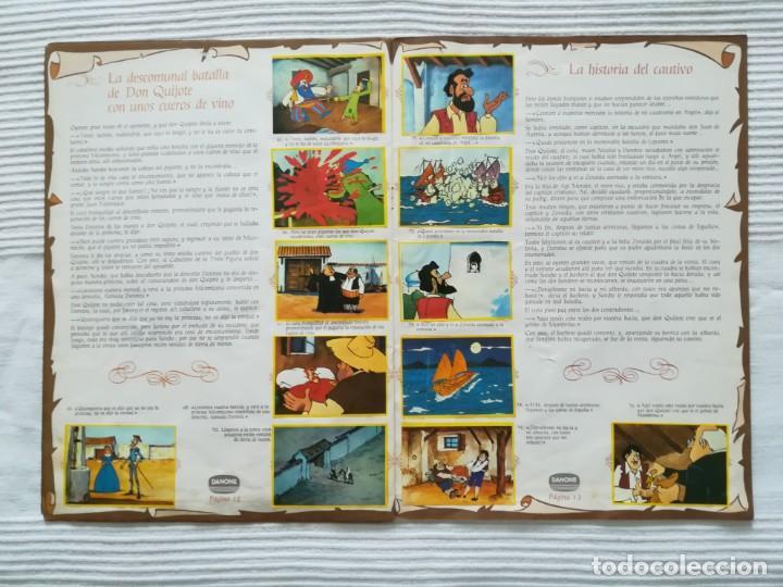 Coleccionismo Álbumes: Álbum Don Quijote de la Mancha de Danone - Foto 8 - 194236976