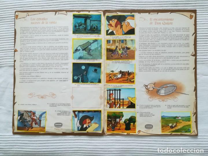 Coleccionismo Álbumes: Álbum Don Quijote de la Mancha de Danone - Foto 9 - 194236976