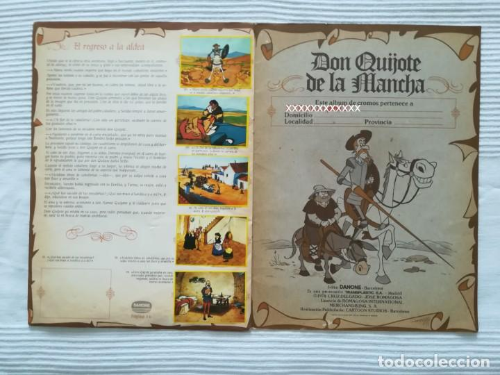 Coleccionismo Álbumes: Álbum Don Quijote de la Mancha de Danone - Foto 10 - 194236976