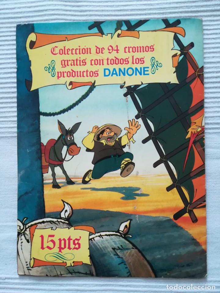 Coleccionismo Álbumes: Álbum Don Quijote de la Mancha de Danone - Foto 11 - 194236976