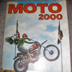 Coleccionismo Álbumes: ALBUM CROMOS MOTO 2000 . EDICIONES VULCANO INCOMPLETO 60 DE 200 - 1973. Lote 194238698