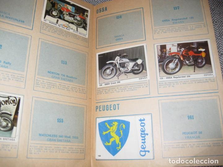 Coleccionismo Álbumes: album cromos moto 2000 . ediciones vulcano incompleto 60 de 200 - 1973 - Foto 4 - 194238698