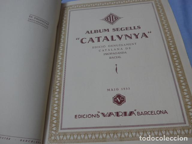 Coleccionismo Álbumes: * Antiguo album de cromos catalunya, de 1933, original, faltan varios cromos. ZX - Foto 3 - 194239298