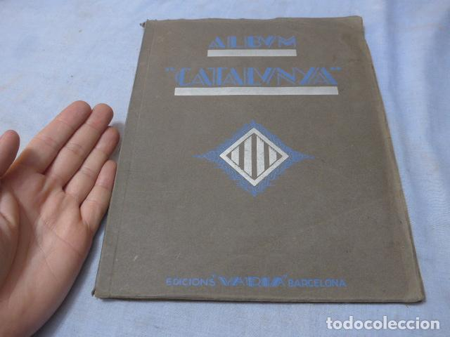 * ANTIGUO ALBUM DE CROMOS CATALUNYA, DE 1933, ORIGINAL, FALTAN VARIOS CROMOS. ZX (Coleccionismo - Cromos y Álbumes - Álbumes Incompletos)