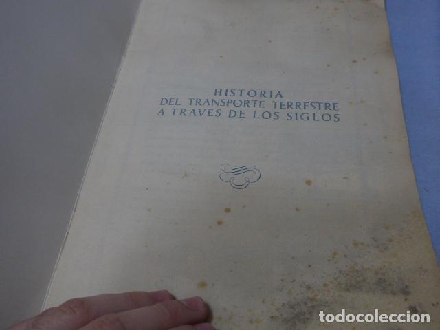 Coleccionismo Álbumes: * Antiguo album de cromos historia del transporte terrestre, original. Faltan varios cromos. ZX - Foto 2 - 194239477
