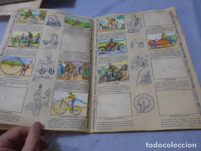Coleccionismo Álbumes: * Antiguo album de cromos historia del transporte terrestre, original. Faltan varios cromos. ZX - Foto 7 - 194239477