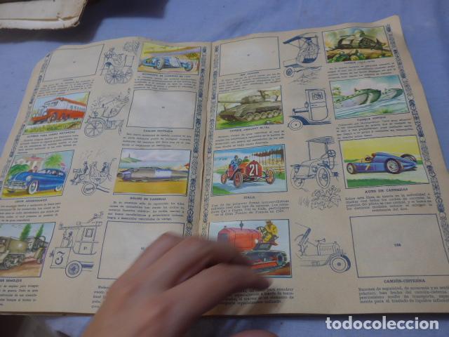 Coleccionismo Álbumes: * Antiguo album de cromos historia del transporte terrestre, original. Faltan varios cromos. ZX - Foto 9 - 194239477