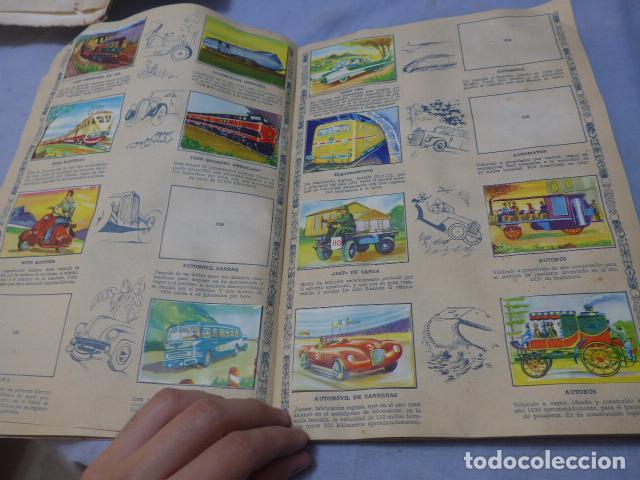 Coleccionismo Álbumes: * Antiguo album de cromos historia del transporte terrestre, original. Faltan varios cromos. ZX - Foto 10 - 194239477