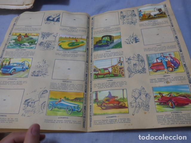 Coleccionismo Álbumes: * Antiguo album de cromos historia del transporte terrestre, original. Faltan varios cromos. ZX - Foto 11 - 194239477