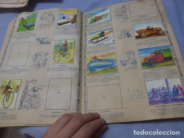 Coleccionismo Álbumes: * Antiguo album de cromos historia del transporte terrestre, original. Faltan varios cromos. ZX - Foto 12 - 194239477