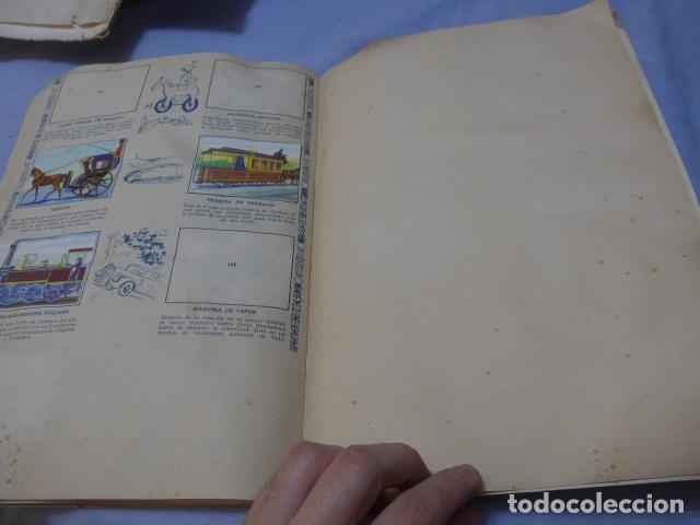 Coleccionismo Álbumes: * Antiguo album de cromos historia del transporte terrestre, original. Faltan varios cromos. ZX - Foto 13 - 194239477