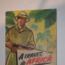 Coleccionismo Álbumes: COLECCIÓN CROMOS A TRAVÉS DE ÁFRICA CHOCOLATES ÁLBUM BATANGA Nº 1 CASI COMPLETA SÓLO FALTA 1 CROMO. Lote 194248621
