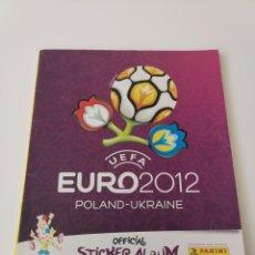 Coleccionismo Álbumes: ÁLBUM EURO 2012 POLONIA Y UCRANIA PANINI. Lote 194311436