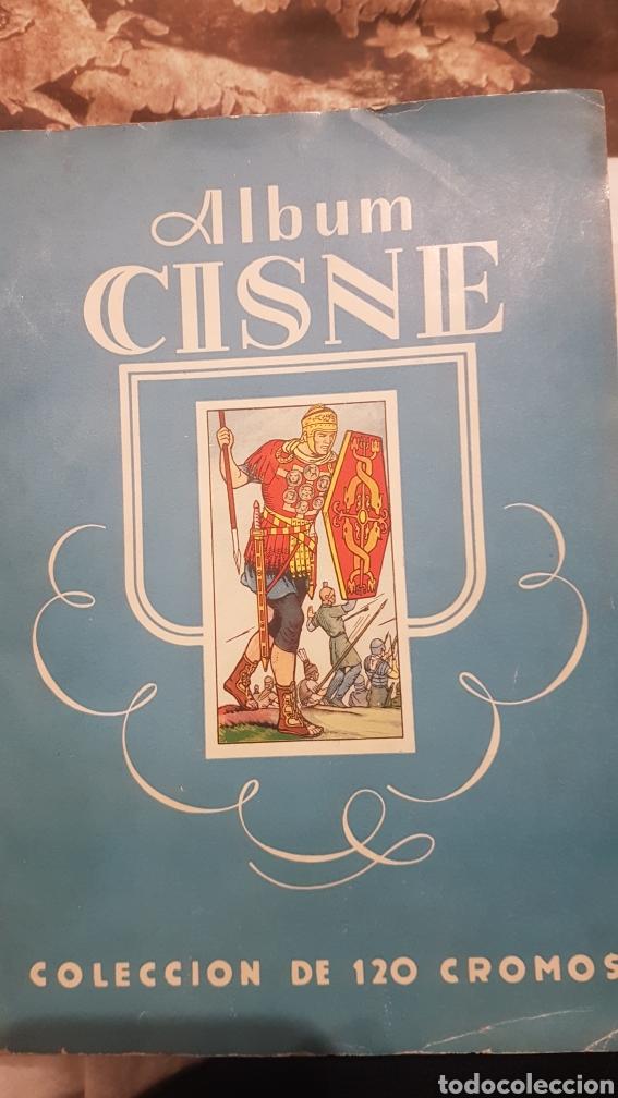 ALBUM CISNE INCOMPLETO (Coleccionismo - Cromos y Álbumes - Álbumes Incompletos)