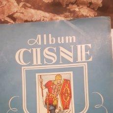 Coleccionismo Álbumes: ALBUM CISNE INCOMPLETO. Lote 194340223