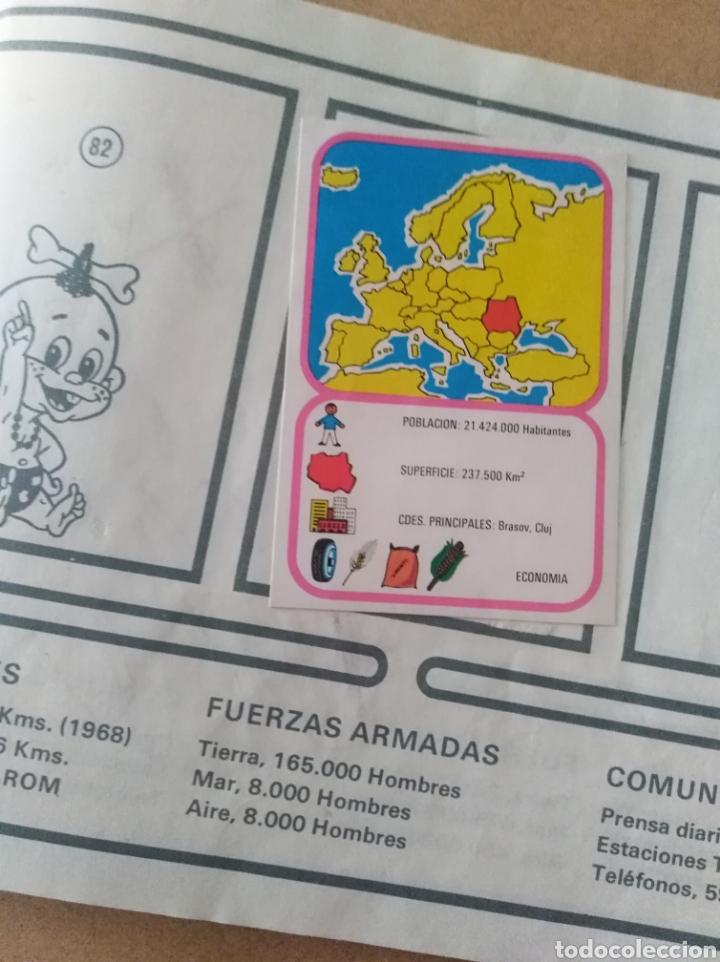 Coleccionismo Álbumes: Album cromos chocolates Hueso Europa cromo colección - Foto 8 - 194340237