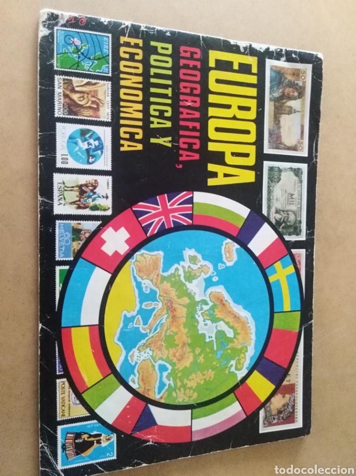 ALBUM CROMOS CHOCOLATES HUESO EUROPA CROMO COLECCIÓN (Coleccionismo - Cromos y Álbumes - Álbumes Incompletos)