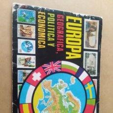 Coleccionismo Álbumes: ALBUM CROMOS CHOCOLATES HUESO EUROPA CROMO COLECCIÓN. Lote 194340237