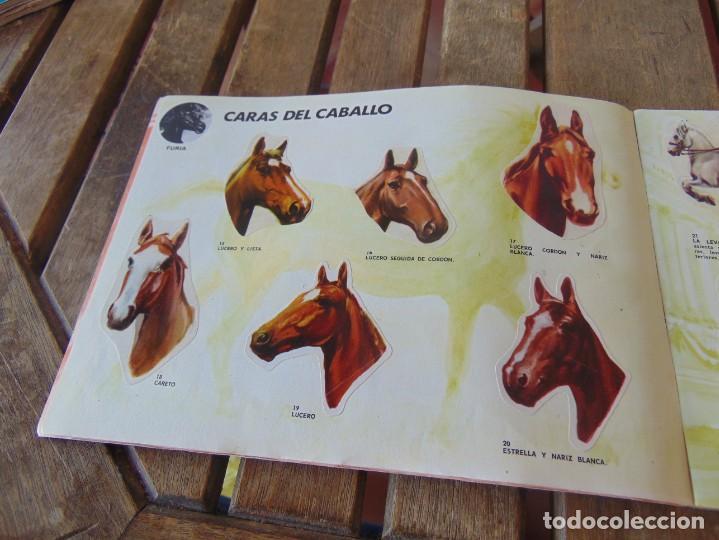 Coleccionismo Álbumes: ÁLBUM DE PANRICO EL MUNDO DE FURIA CABALLOS EN ACCION INCOMPLETO FALTAN 7 CROMOS - Foto 4 - 194341920