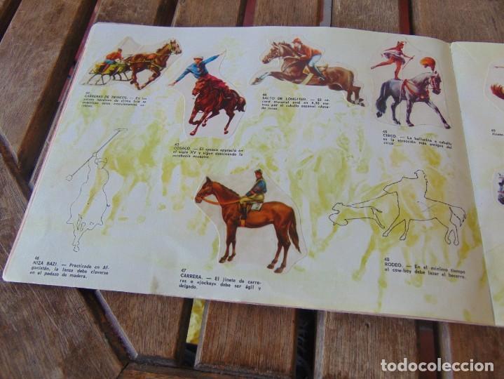 Coleccionismo Álbumes: ÁLBUM DE PANRICO EL MUNDO DE FURIA CABALLOS EN ACCION INCOMPLETO FALTAN 7 CROMOS - Foto 8 - 194341920