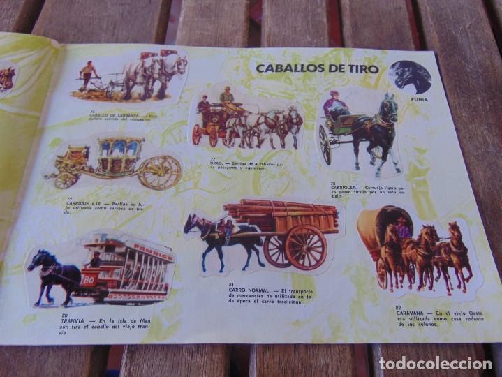 Coleccionismo Álbumes: ÁLBUM DE PANRICO EL MUNDO DE FURIA CABALLOS EN ACCION INCOMPLETO FALTAN 7 CROMOS - Foto 13 - 194341920