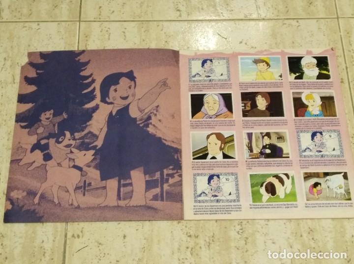 Coleccionismo Álbumes: HEIDI ALBUM DE CROMOS AÑOS 70 - Foto 2 - 194345411