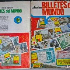 Coleccionismo Álbumes: ALBUM COLECCION BILLETES DEL MUNDO. ED. ESTE . Lote 194356945
