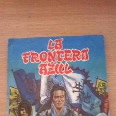 Coleccionismo Álbumes: ÁLBUM CROMOS FHER FRONTERA AZUL . Lote 194394130