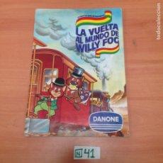 Coleccionismo Álbumes: ÁLBUM DE CROMOS INCOMPLETO DANONE. Lote 194642425