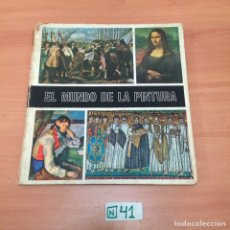Coleccionismo Álbumes: ÁLBUM DE CROMOS INCOMPLETO EL LIBRO DE LA PINTURA. Lote 194652926