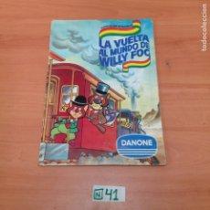 Coleccionismo Álbumes: ÁLBUM DE CROMOS INCOMPLETO DANONE. Lote 194653590
