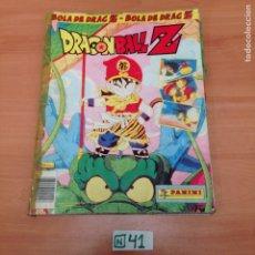 Coleccionismo Álbumes: ÁLBUM DE CROMOS INCOMPLETO DRAGÓN BALL Z. Lote 194654228