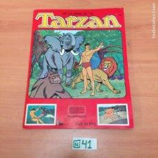 Coleccionismo Álbumes: ÁLBUM DE CROMOS INCOMPLETO TARZAN. Lote 194656946