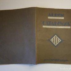 Coleccionismo Álbumes: VARIA - ALBUM CATALUNYA - ALBUM NO COMPLETO. Lote 194662978