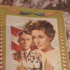 Coleccionismo Álbumes: ALBUM LA FAMILIA TRAPP INCOMPLETO HAY 156 CROMOS. Lote 194735481