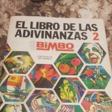 Coleccionismo Álbumes: ALBUM EL LIBRO DE LAS ADIVINANZAS 2. Lote 194737247