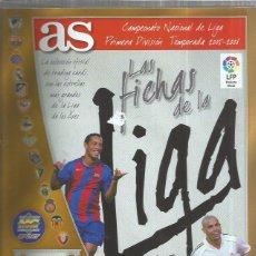 Coleccionismo Álbumes: ALBUM AS FICHAS DE LA LIGA 2005. Lote 194753995