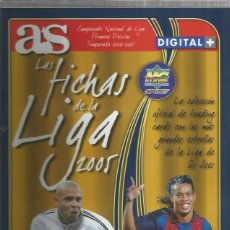 Coleccionismo Álbumes: AS ALBUM FICHAS DE LA LIGA 2005. Lote 194754052