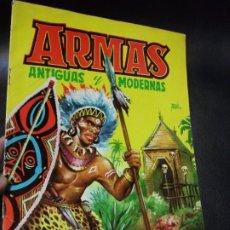 Coleccionismo Álbumes: ALBUM DE CROMOS ARMAS ANTIGUAS Y MODERNAS - FERMA AÑOS 50 CROMO - FATAN 10 CROMOS. Lote 194768036