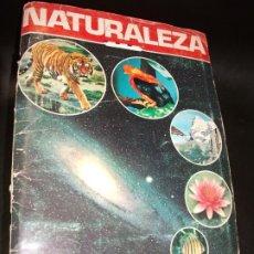 Coleccionismo Álbumes: ALBUM DE CROMOS NATURALEZA - FHER 1981 CROMO - FALTAN 13. Lote 194768402