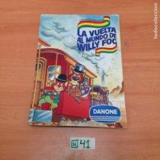 Coleccionismo Álbumes: ÁLBUM DE CROMOS INCOMPLETO DANONE. Lote 194861840