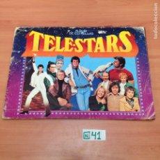 Coleccionismo Álbumes: ÁLBUM DE CROMOS INCOMPLETO TELESTART. Lote 194862911