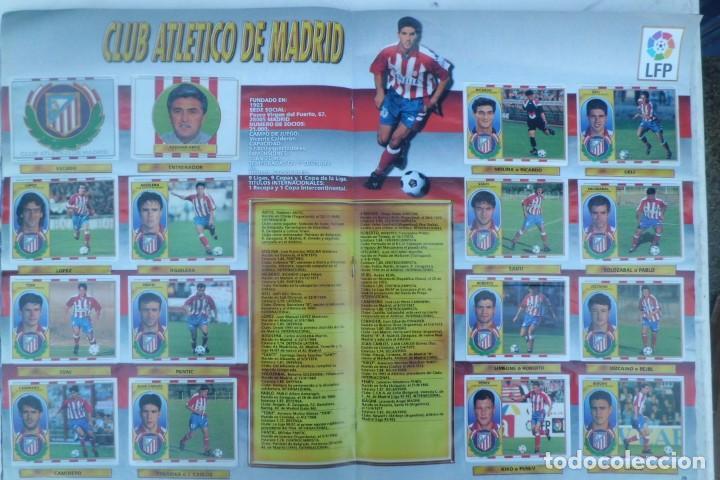 Coleccionismo Álbumes: ALBUM DE CROMOS LIGA 96-97, FALTO DE 6 CROMOS Y ULTIMOS FICHAJES - Foto 2 - 194898930