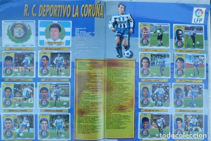 Coleccionismo Álbumes: ALBUM DE CROMOS LIGA 96-97, FALTO DE 6 CROMOS Y ULTIMOS FICHAJES - Foto 3 - 194898930