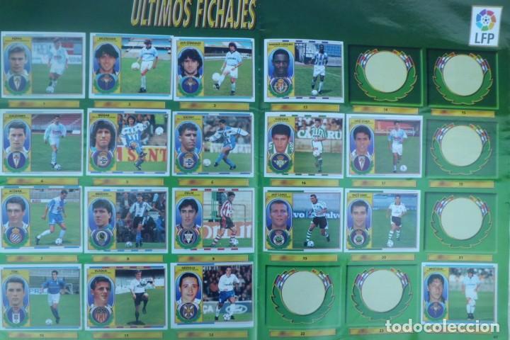 Coleccionismo Álbumes: ALBUM DE CROMOS LIGA 96-97, FALTO DE 6 CROMOS Y ULTIMOS FICHAJES - Foto 4 - 194898930