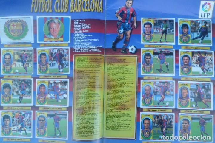 Coleccionismo Álbumes: ALBUM DE CROMOS LIGA 96-97, FALTO DE 6 CROMOS Y ULTIMOS FICHAJES - Foto 5 - 194898930