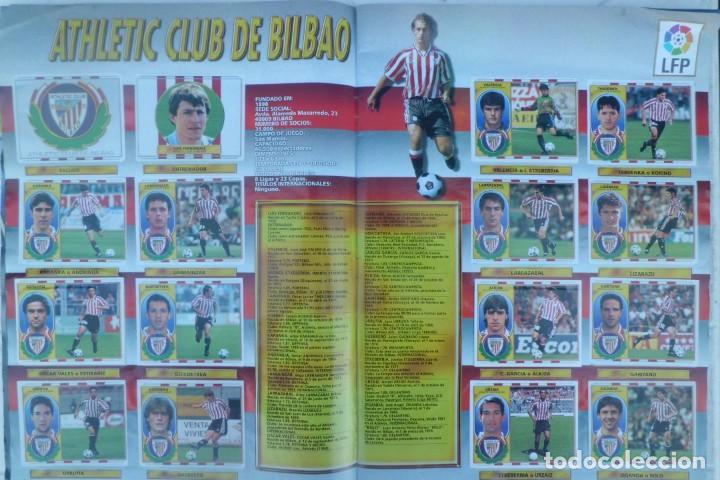 Coleccionismo Álbumes: ALBUM DE CROMOS LIGA 96-97, FALTO DE 6 CROMOS Y ULTIMOS FICHAJES - Foto 6 - 194898930