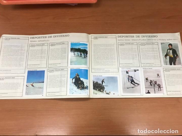 Coleccionismo Álbumes: ALBUM CONTAMO CONTIGO 1968 INCOMPLETO 134 CROMO PEGADOS - Foto 5 - 194899716